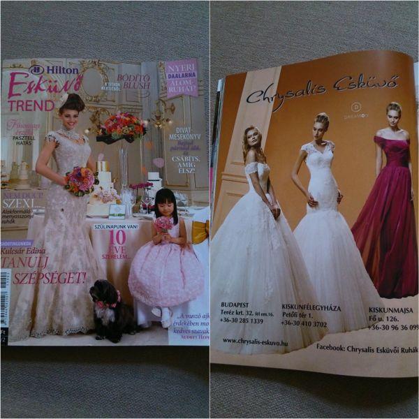 DreamON Macaristan'ın ünlü dergisi Esküvo Trend'de yeni abiye ve gelinlik modelleri ile yer alıyor. DreamON Fairy Tale ve DreamON Stir UP koleksiyonları tüm DreamON mağazalarında. www.dreamon.com.tr