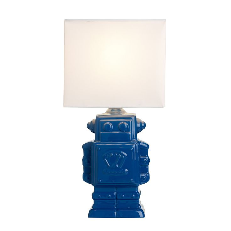 This awesome novelty Robot Kids Bedroom Lamp is perfect for your kids bedroom.