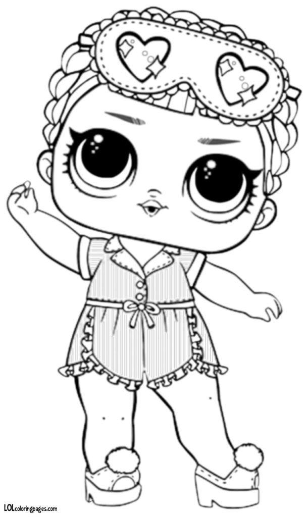 лол раскраска в пижаме раскраски лол раскраска Lol куклы