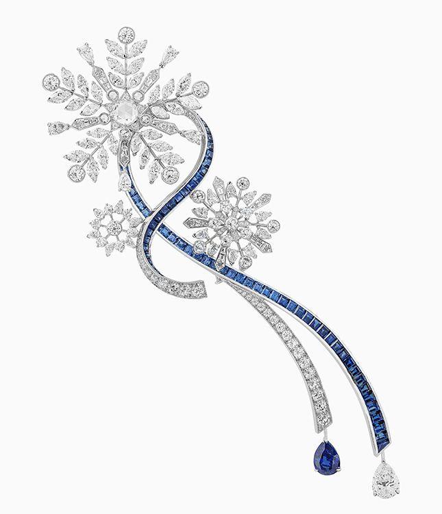 Только в России: уникальные драгоценности Van Cleef & Arpels на зиму | Украшения | VOGUE