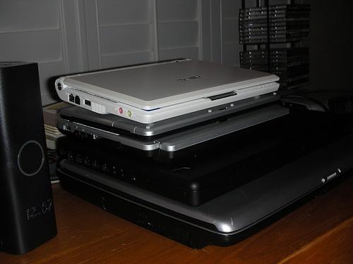 Laptop Stack