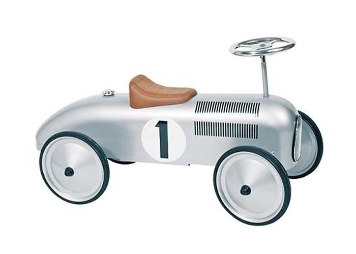 silver bobby car, retro style!  vintage  61.45 € from dawanda