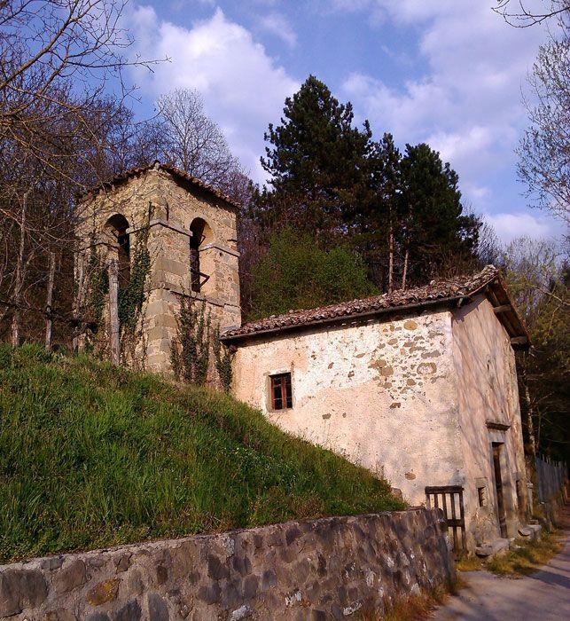 Chiesetta di S. Ansano Castiglione di Garfagnana - Church of St. Ansano Castiglione di Garfagnana
