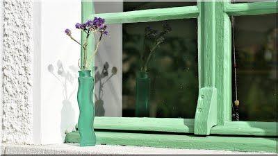 Régi fa ablak