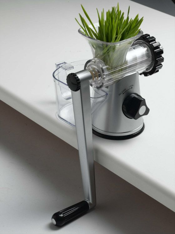 Lexen have now released their popular manual juicer in a new stylish brushed Silver finish - model no GP 27. It  is a great value, super light compact manual juicer recommend for juicing wheatgrass, sprouts, herbs and leafy greens. It makes an ideal travel juicer weighting less than 1kg. It works by crushing the fibre to extract the juice, effectively cold pressing the produce to preserve the natural flavour and nutrients.  The Lexen Manual Juicer is remarkably sturdy, efficient, and best of…