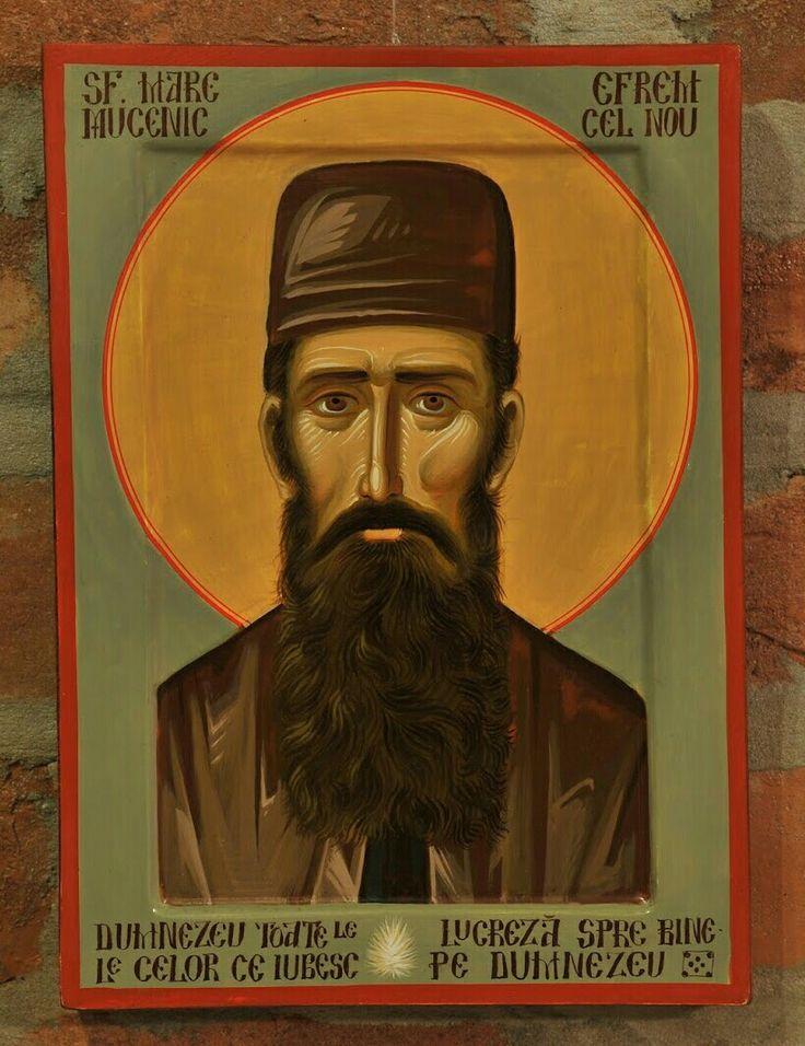 St.EphraimofNea Makrior St.Ephraimof Mount Amomon (by Bogdan Rednic)+++ Sf. Efrem cel Nou