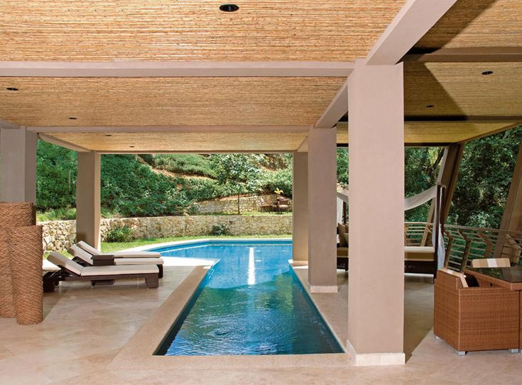 luxury vacation home costa rica indoor pool