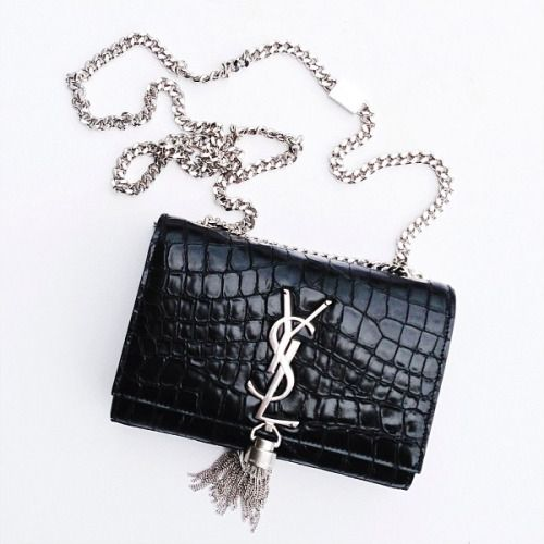 YSL snakeskin shoulder bag and silver tassel | Bags | Pinterest ...