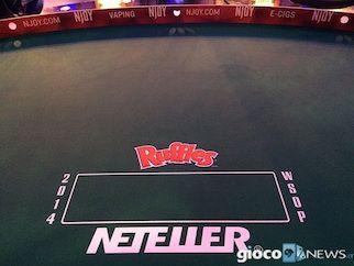 Da Las Vegas le foto esclusive del backstage del final table N9 Wsop