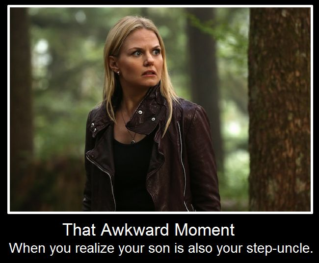 The most accurate description of the once upon a time family tree ever