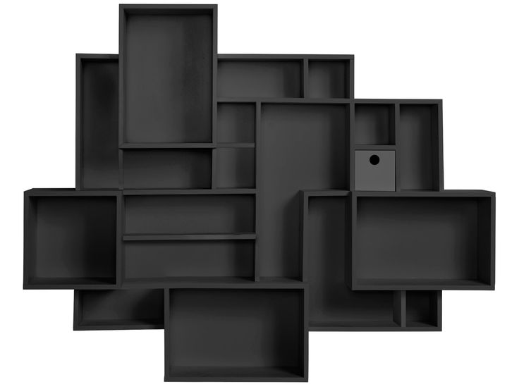 Perfect place to showcase your collectables - Wall Hung Black Shadow Boxes (one unit)