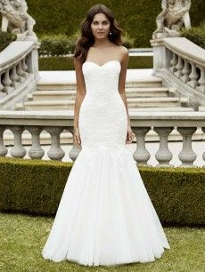 Isabela- elegantly embroidered lace over corded lace bodice