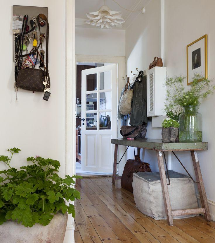 En lejlighed i countrystil - inspiration til indretning