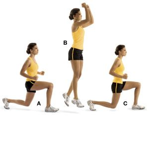 Lunge Jumps - BCD