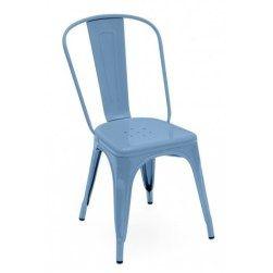 50 coloris dner design de dner chaises tolix bleu acier intrieur bleu dco interieure cuisine design sur