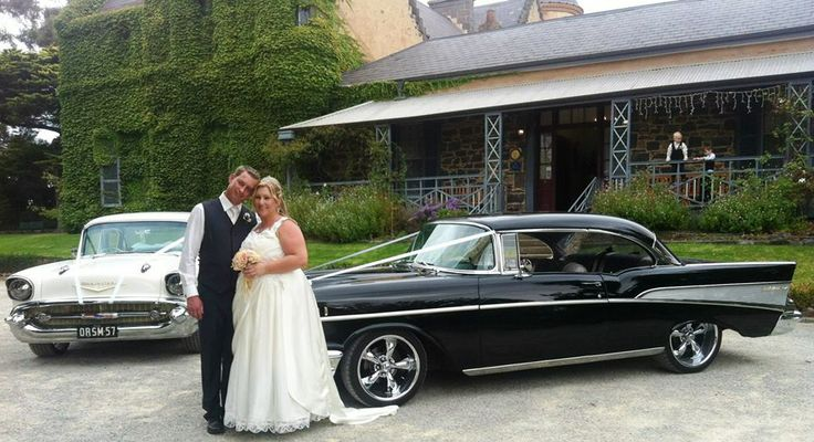 Our wedding - beautiful venue - Overnewton Castle. Awesome cars, Awesome Chevy Hire