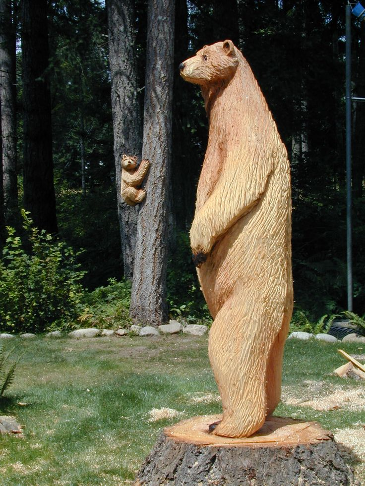 Best images about chainsaw carving favorite bear ideas