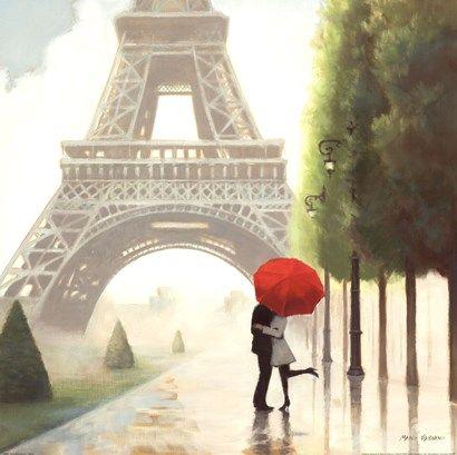 Paris Romance II at FramedArt.com