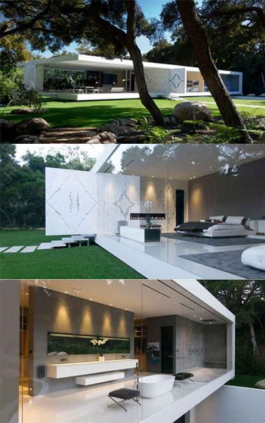 Glass Pavilion# Inspired from Mies and Philip# International style