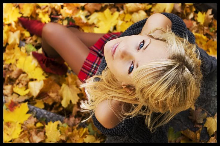 Autumn Harmony - Fake friends are autumn leaves; they are scattered everywhere. #autumn