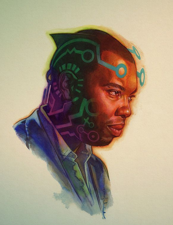 Ta-Nehisi Coates Fights the Power—Literally—With Black Panther Art  by BRIAN STELFREEZE