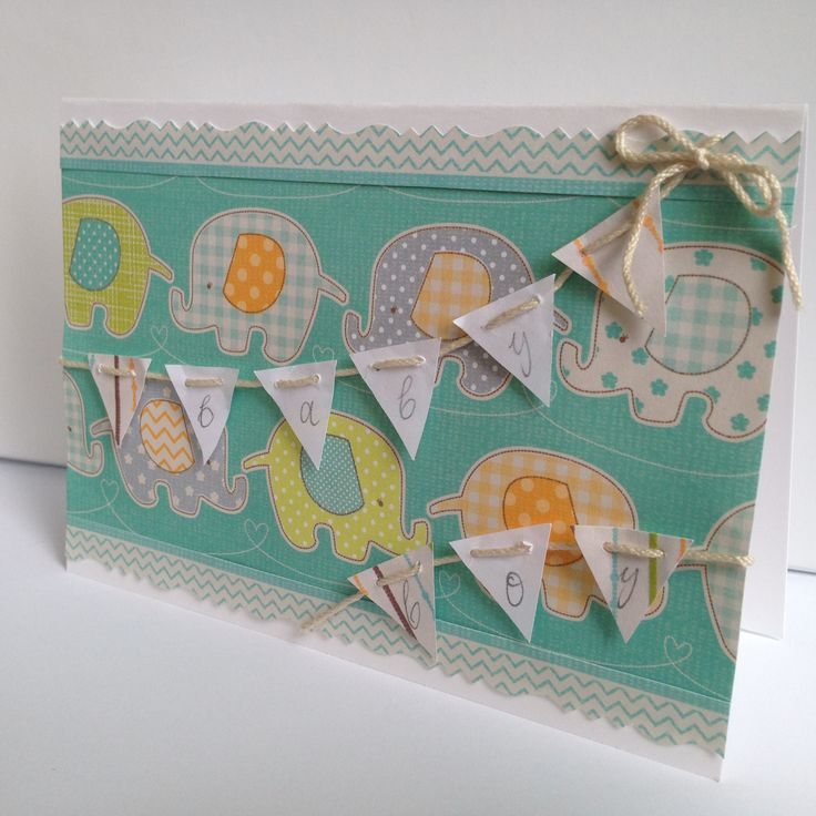 Baby Boy card made by Pammypumpkin!