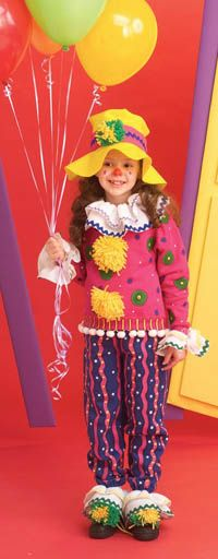 """TLC Family """"Clown Costume"""". DIY Halloween costumes for your kids this year!"""