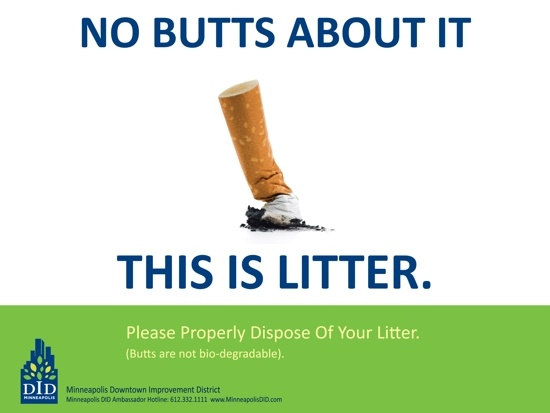 no butts about it essay In fort worth, no butts about it by susan smith richardson thu, dec 15, 2011  at 10:19 pm cst in may, the fort worth transportation.