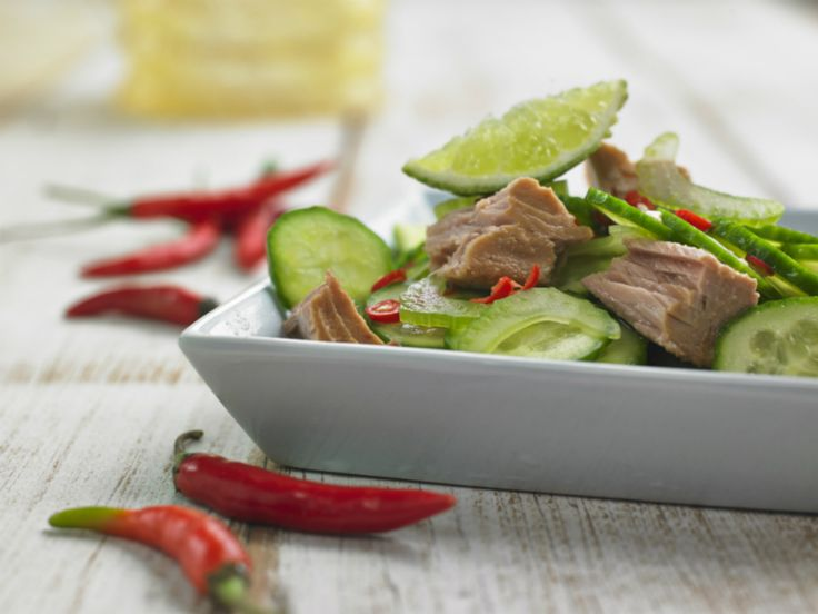 Make Life Easy with this Tuna Ceviche recipe! LIKE us at https://www.facebook.com/goldseal #cannedtuna #nodraintuna #easyrecipes