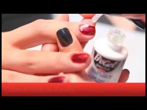 Esmaltado Permanente en español Paso a Paso Progel Supernail - YouTube