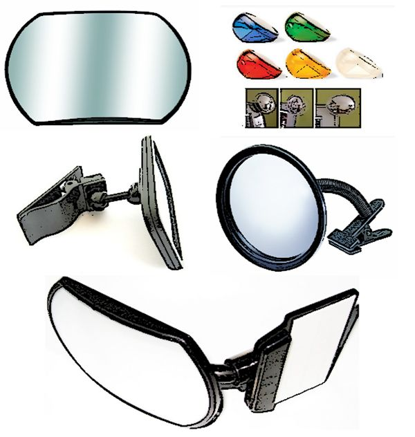 Need a rear view monitor mirror for your office or #cubicle? This article and YouTube video review should help you find one that works for you!