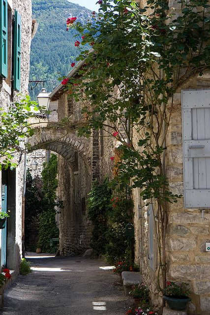 Châtillon-en-Diois, Rhone-Alpes, France