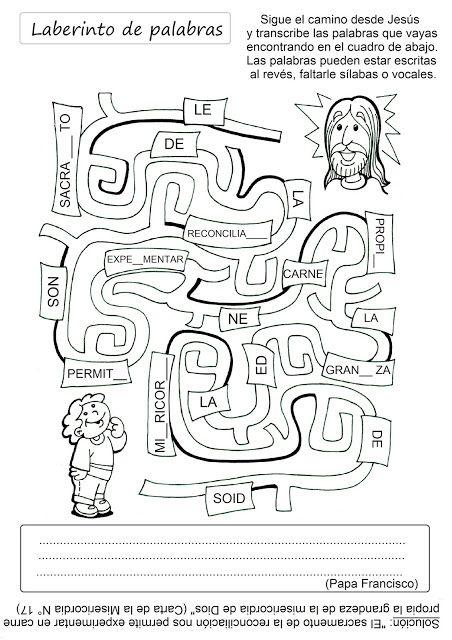 El Rincón de las Melli: JUEGO: Laberinto de palabras