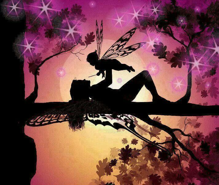 Fairy babyFantasy, Magic, Fairies Silhouettes, Fairies Baby, Art, Baby Fairies, Faeries, Baby Room, Fairies Things