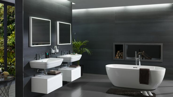For today at #XXIIPorcelanosaExhibition ... Noken Design recommends a more sustainable bathroom Simplicity and minimalism in Porcelanosa #Bathroom design