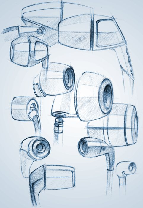 Product Sketches by adityaraj dev at Coroflot.com