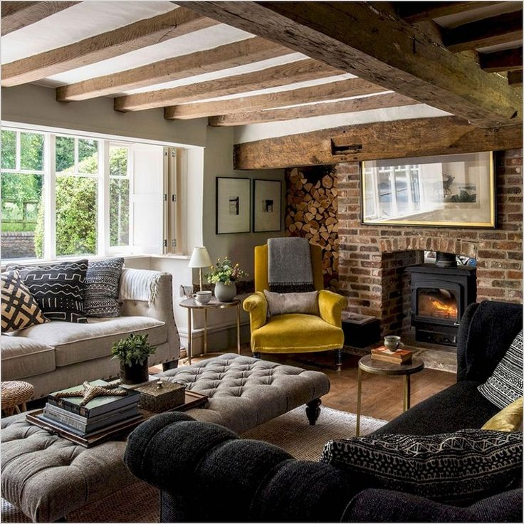 30+ magnificence and Cozy Farmhouse Living Room Decor Ideas
