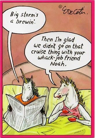 Click for more funny Noah's ark cartoons