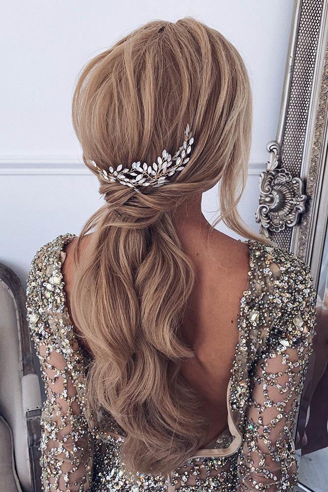 30 schönsten böhmischen Hochzeitsfrisuren, böhmischen Hochzeitsfrisuren ponytai …   – Wedding Hairstyles & Updos