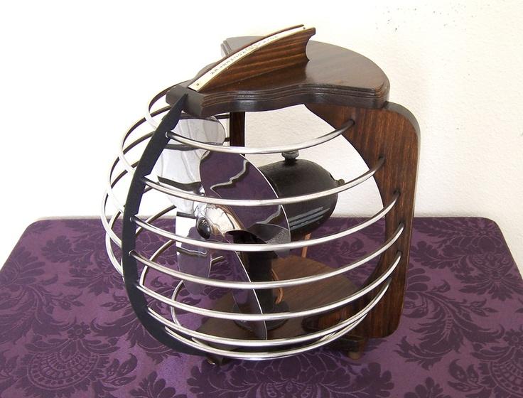 Vintage Streamline Art Deco Electric Fan by Royal Rochester | eBay