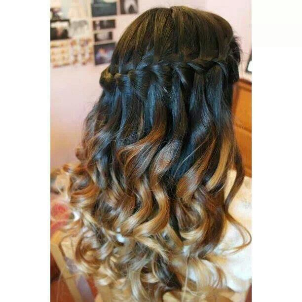 Hairstyles For Long Hair Sweet 16 : Go Back > Gallery For > Sweet 16 Hairstyles With Braids