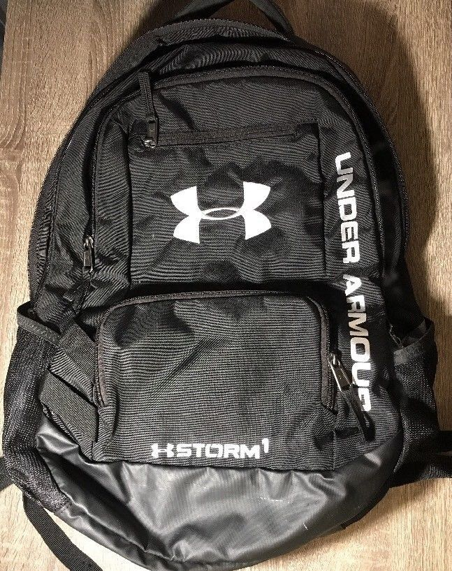 USED Under Armour Unisex Team Hustle Backpack Black 1272782  fashion   clothing  shoes  accessories  unisexclothingshoesaccs  unisexaccessories  (ebay link) 268fb46e37459
