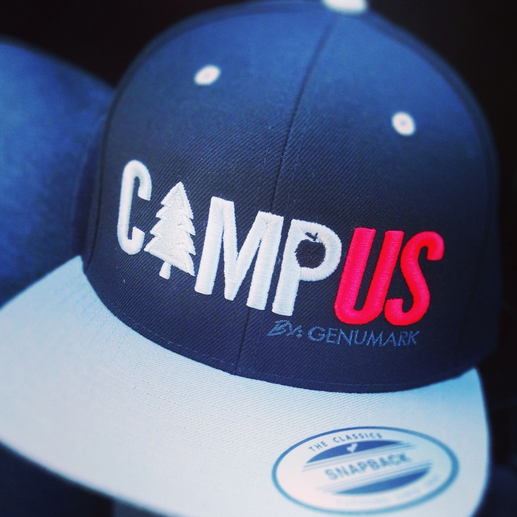 Our puff embroidered snap back - Logo your own for as low as $12 (many colours available)