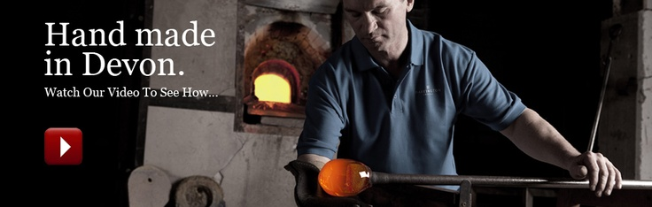 Visit Dartington Crystal  at Great Torrington, Devon with its vistor centre, museum & factory experience & outlet with seconds. World famous hand made glass & crystal ware.