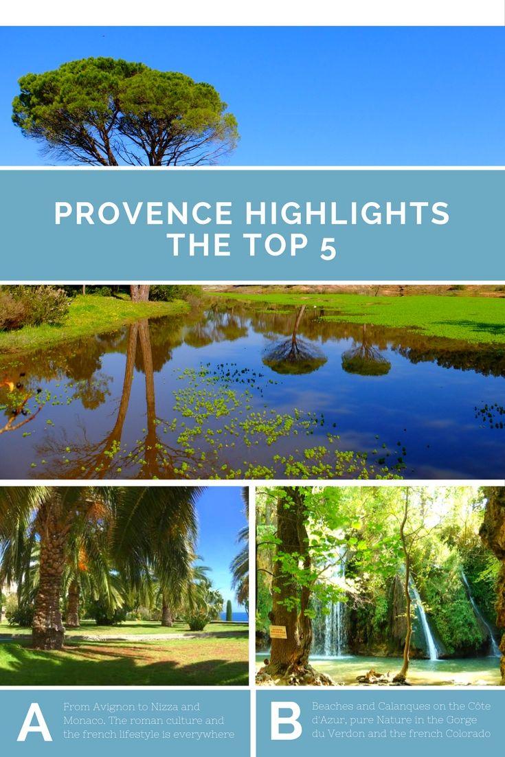 Urlaub machen in der Provence - Welche Provence Sehenswürdigkeiten sollte man gesehen haben? Sie können nicht alle Provence Sehenswürdigkeiten bei nur einem Urlaubsaufenthalt kennen lernen. Eine Auswahl der für mich schönsten finden Sie auf dieser Seite. Natürlich ist dies alles sehr subjektiv, der eine mag mehr Natur, der andere mehr Strand und Wasser und es gibt sogar Menschen, welche Städte mögen ;) Ob Rundreise in der Provence, die Lavendelblüte der Provence oder einen Städtetrip in Niz
