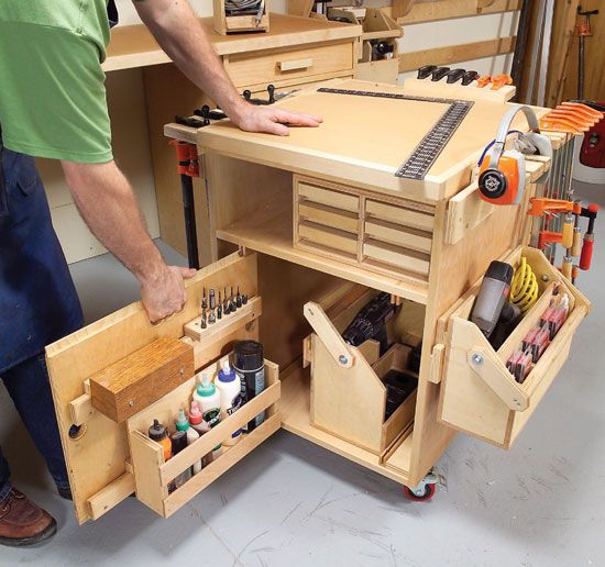 American Woodshop Workbench - WoodWorking Projects & Plans