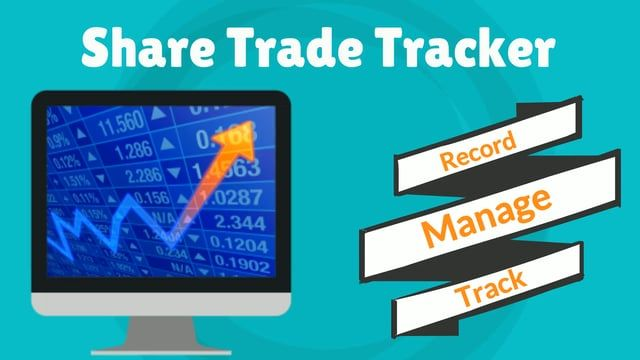 Watch explainer video on Share Trade Tracker