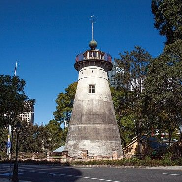 Windmill Tower on Wickham Terrace, Spring Hill is the oldest convict-built structure surviving in Queensland #boh2014 #unlockbrisbane #brisbane #discoverbrisbane