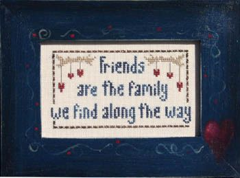 Friends and Family - Cross Stitch Pattern
