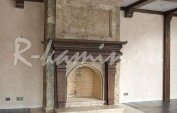 Наши работы - камины по индивидуальному проекту, изделия из камня | R-kamin.ru